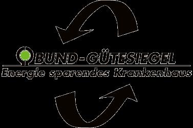 """BUND-Gütesiegel """"Energie sparendes Krankenhaus"""""""